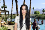 Zoe Kravitz Shirtdress