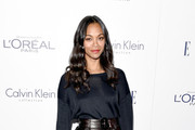 Zoe Saldana Boatneck Sweater