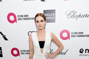 Zoey Deutch Cutout Dress