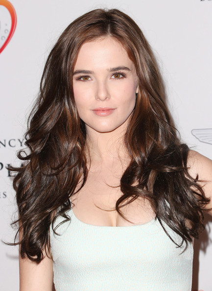 Zoey Deutch Long Wavy Cut [love to erase ms,love to erase ms,hair,hairstyle,face,long hair,brown hair,eyebrow,layered hair,beauty,lip,chin,gala,zoey deutch,arrivals,hyatt regency century plaza,century city,california,race]