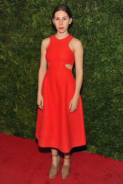 Zosia Mamet Cutout Dress