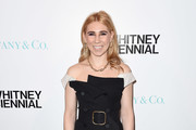 Zosia Mamet Off-the-Shoulder Dress