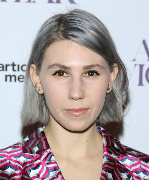 Zosia Mamet Side Parted Straight Cut [hair,face,eyebrow,hairstyle,lip,chin,cheek,beauty,skin,blond,arrivals,zosia mamet,florence gould hall theater,new york city,giorgio armani presents the new york premiere of a24,a most violent year]