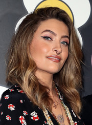 Paris Jackson was gorgeously coiffed with this wavy 'do at the alice + olivia x FriendsWithYou collection launch.