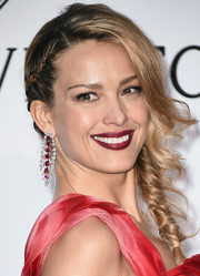Petra Nemcova charmed with this loose side braid at the amfAR Cinema Against AIDS Gala.