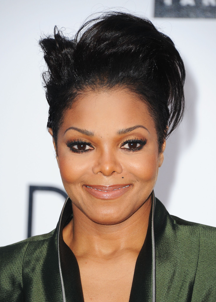 More Pics Of Janet Jackson Short Straight Cut 11 Of 23