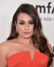 Lea Michele was gorgeously coiffed with loose, sweet waves at the amfAR Inspiration Gala.