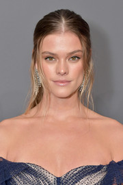 Nina Agdal pulled her hair back into a ponytail for the 2019 amfAR New York Gala.