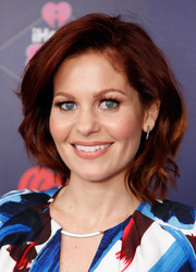 Candace Cameron Bure wore her hair in a textured bob at the iHeart80s Party 2017.