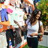 Television personality Padma Lakshmi attends jcpenney + Joe Fresh Kids Orange Grove in Times Square on August 21, 2013 in New York City.