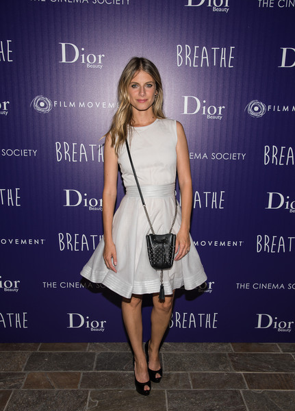 Mélanie Laurent Tasseled Shoulder Bag