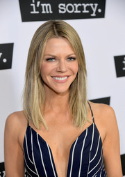 Kaitlin Olson looked simply elegant with her straight, shoulder-length hair at the premiere of 'I'm Sorry.'