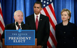 Robert Gates ( in Obama Announces Appointments Of Clinton, Gates, Nat'l Security Team