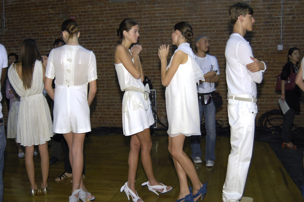 3.1 Phillip Lim Spring 2007 - Backstage
