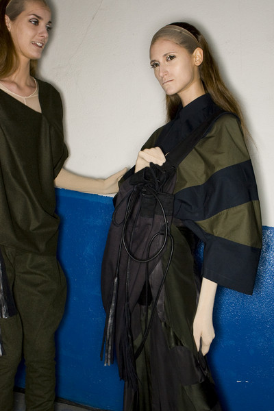 A.F. Vandevorst Fall 2009 - Backstage
