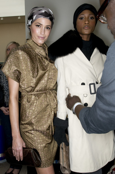 AQUASCUTM Fall 2009 - Backstage