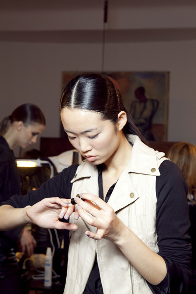 Aigner Fall 2012 - Backstage