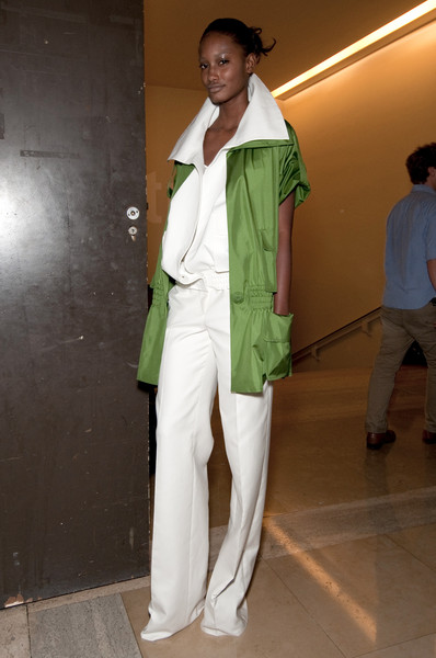 Akris Spring 2011 - Backstage