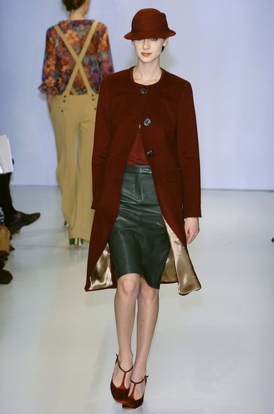 Alberto Biani at Milan Fall 2004