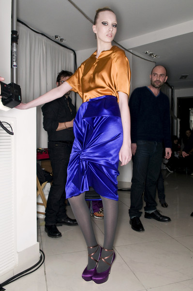 Albino Fall 2009 - Backstage
