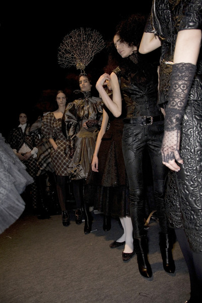 Alexander McQueen Fall 2008 - Backstage