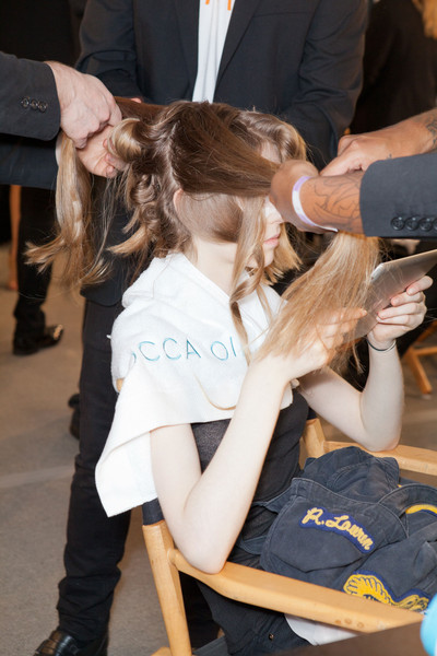 Alexandre Herchcovitch at New York Spring 2013 (Backstage)