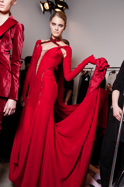 Altuzarra Fall 2010 - Backstage