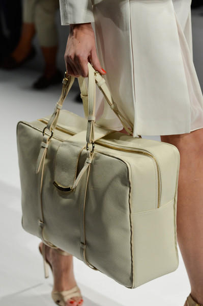 Alviero Martini First Class at Milan Spring 2013 (Details)