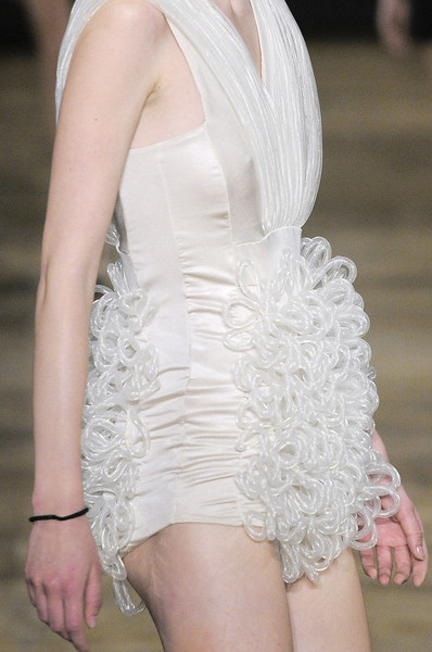 Amaya Arzuaga at Paris Spring 2011 (Details)