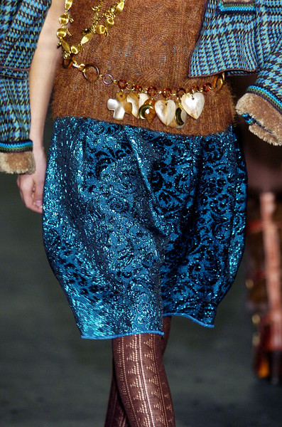 Anna Sui at New York Fall 2005 (Details)