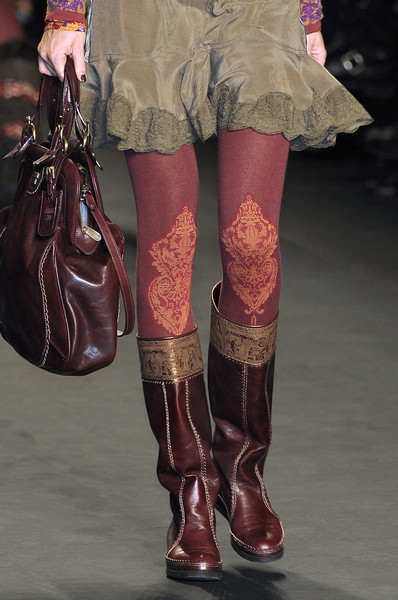 Anna Sui Fall 2010 - Details