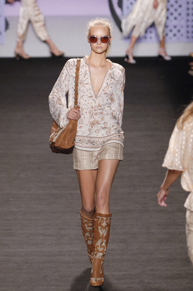 Anna Sui at New York Spring 2006