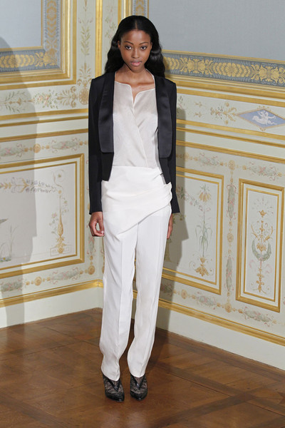Anne Valérie Hash at Couture Fall 2011