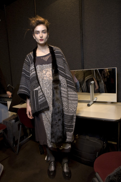 Antonio Marras at Milan Fall 2010 (Backstage)
