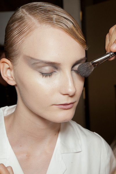 Armani Privé Fall 2012 - Backstage