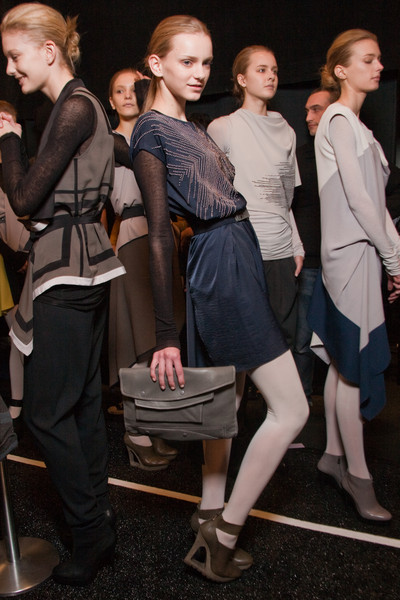 BCBG Max Azria Fall 2010 - Backstage