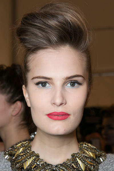 Badgley Mischka Fall 2013 - Backstage
