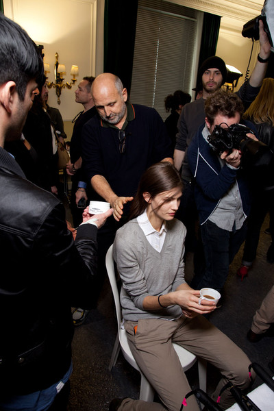 Balmain at Paris Fall 2012 (Backstage)