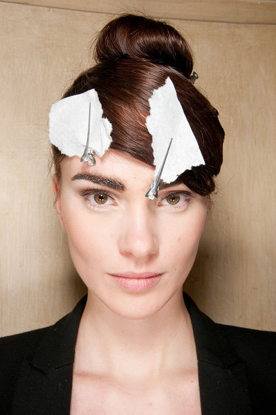 Basharatyan V Fall 2012 - Backstage