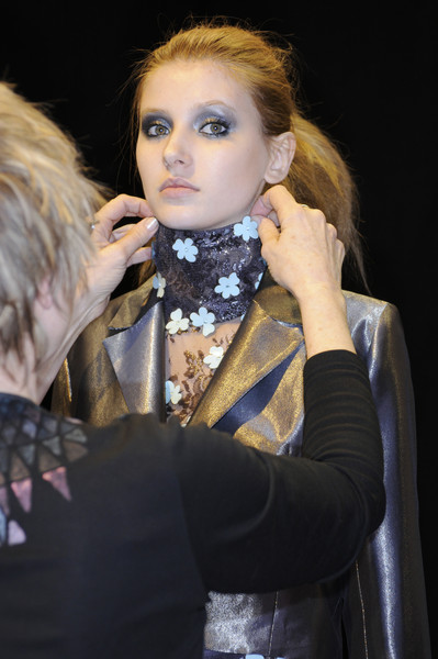 Ben de Lisi Fall 2008 - Backstage