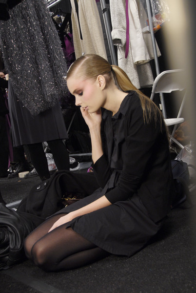 Bill Blass Fall 2008 - Backstage