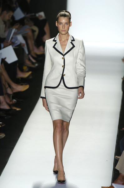 Bill Blass at New York Spring 2005