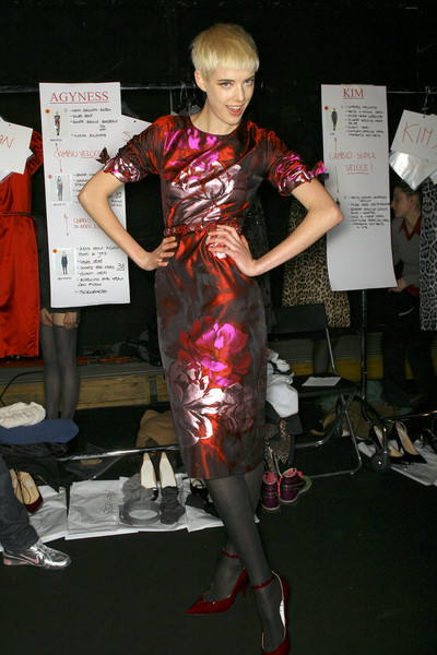 Blumarine Fall 2007 - Backstage