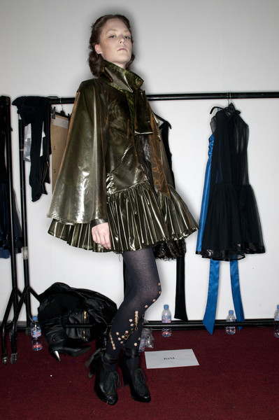 Bora Aksu Fall 2009 - Backstage