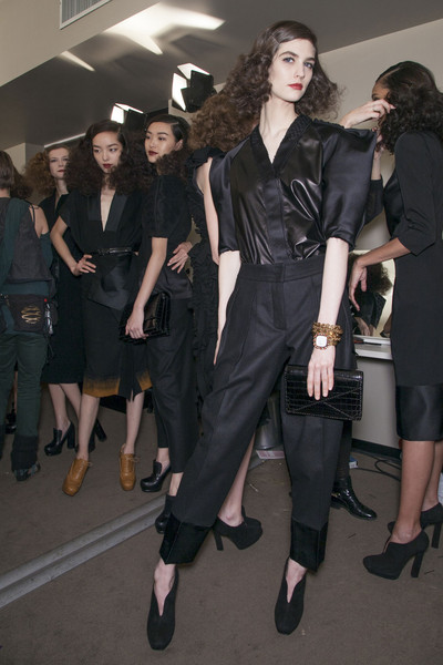 Bottega Veneta Fall 2013 - Backstage
