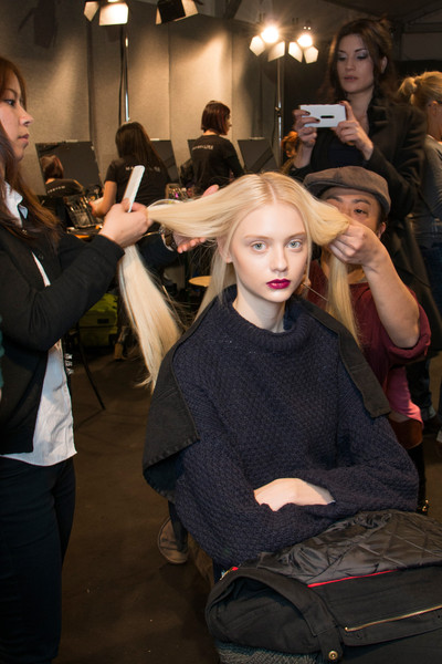 Byblos Fall 2013 - Backstage