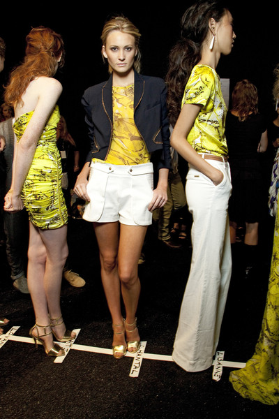 Carlos Miele at New York Spring 2011 (Backstage)