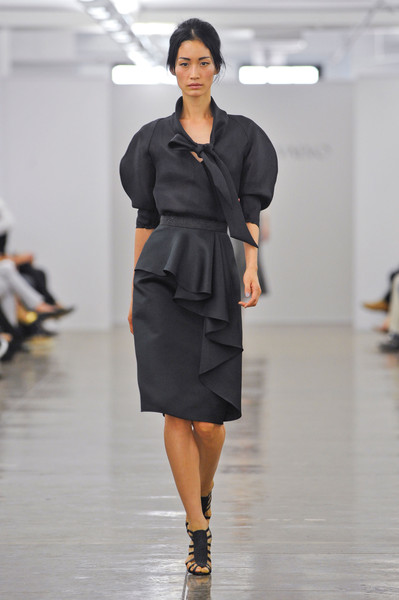 Carmen Marc Valvo at New York Spring 2013