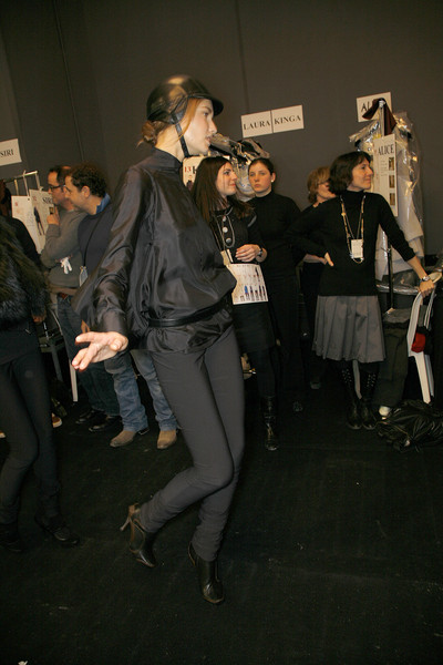 Céline Fall 2008 - Backstage