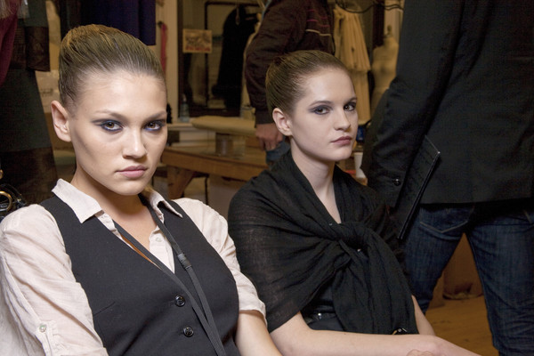 Chado Ralph Rucci Fall 2010 - Backstage